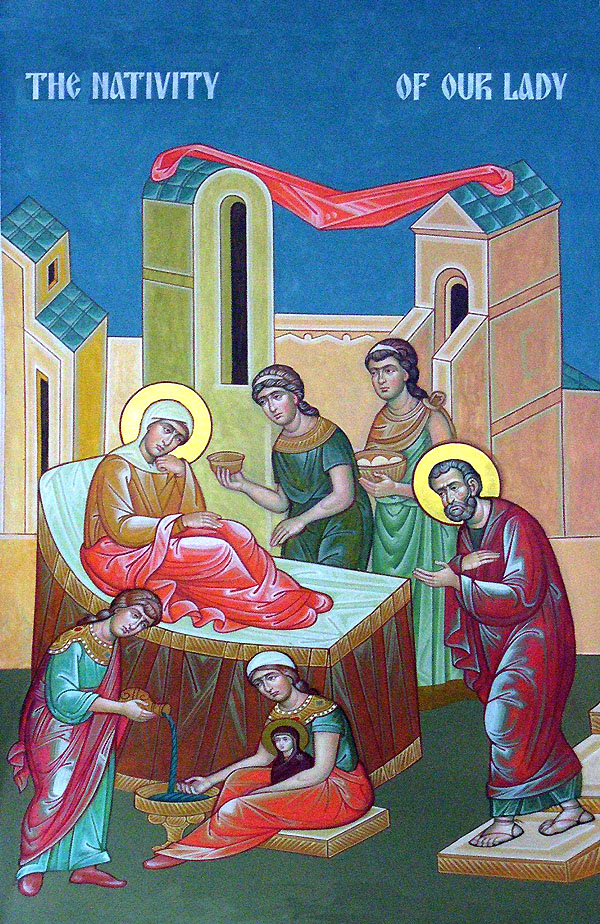 The Nativity of our Lady dans immagini sacre nativityofourlady